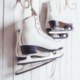 Os patins fecham-se acima Fotos de Stock Royalty Free