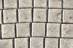 Os pavimentos, modelados pavimentando telhas, cimentam o fundo do assoalho do tijolo Imagens de Stock