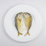 Os peixes curtos fritados da cavala (2) Fotos de Stock