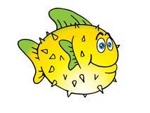 Os peixes de Pike esverdeiam a aleta ilustração do vetor