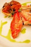Os peixes plat Fotografia de Stock Royalty Free