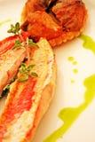 Os peixes plat Fotografia de Stock