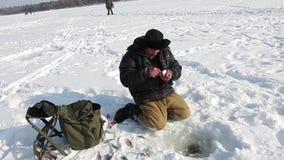 Os pescadores travam um peixe filme