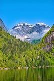 Os picos de Misty Fjords imagens de stock royalty free