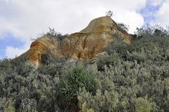 Os pináculos, Fraser Island fotos de stock