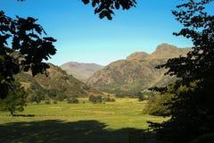 Os piques de Langdale em Cumbria Imagem de Stock
