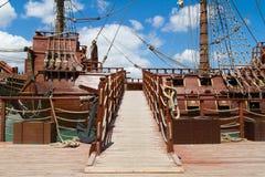 Os piratas dos 04 do Cararibe foto de stock