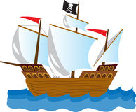 Os piratas dos 04 do Cararibe Fotos de Stock Royalty Free