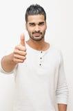Os polegares levantam o homem Fotografia de Stock Royalty Free