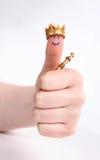 Os polegares levantam a vitória Foto de Stock Royalty Free