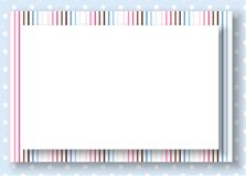Os pontos azuis do vetor mergulharam o fundo Fotos de Stock Royalty Free