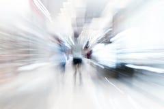 Os povos abstratos do borrão no shopping luxuoso bonito centram Foto de Stock Royalty Free