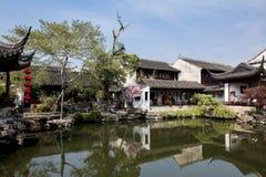 Mola no jardim chinês fotos de stock royalty free
