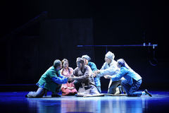 Os povos morrerão, suas palavras são boa ópera de Jiangxi um a balança romana Fotografia de Stock Royalty Free
