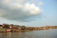 Os precários da vila de Belen em Iquitos foto de stock royalty free