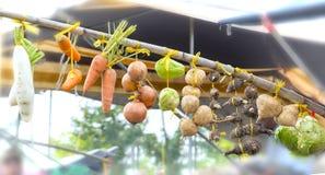 Os produtos agrícolas são cultivados Foto de Stock