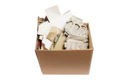 Os produtos de papel para recicl Imagens de Stock Royalty Free
