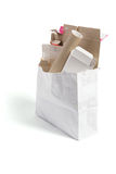Os produtos de papel para recicl Fotografia de Stock Royalty Free