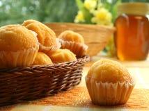 Os produtos do pasteleiro doce Fotografia de Stock