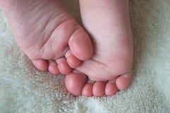 Os pés os mais bonitos Imagens de Stock Royalty Free