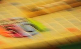 Os quadrados corajosos Textures o fundo dos borrões Fotografia de Stock Royalty Free