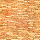 Os quadrados e a aquarela geométricos marrons abstratos dos círculos muram a arte Fotos de Stock