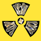 Os radioactifs photo libre de droits