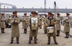Os recrutas das forças armadas de Ucrânia, que participaram fotos de stock
