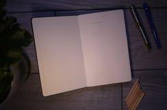 Os registros do diário e a contabilidade e outros registros imagem de stock