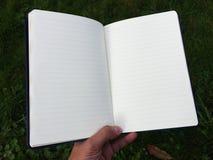 Os registros do diário e a contabilidade e outros registros fotos de stock