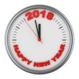 Os relógios 2018 Fotografia de Stock
