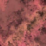 Os remendos ásperos textured a superfície superfície do grunge Colagem textured da parede ilustração stock