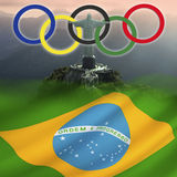 OS 2016 - Rio de Janeiro - Brasilien Arkivfoto