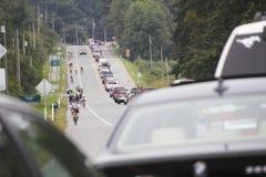 Os 2014 RSVP Seattle à excursão do ciclismo de Vancôver Fotos de Stock
