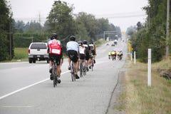 Os 2014 RSVP Seattle à excursão do ciclismo de Vancôver Foto de Stock