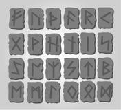 Os runes Foto de Stock
