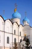 Os séculos da catedral XVI-XVIII do aviso imagem de stock