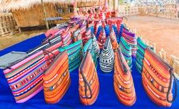 Os sacos de Hilltribe, aprontam-se para a venda Fotografia de Stock Royalty Free