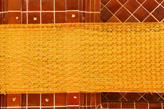 Os sarongues do Kathin foto de stock royalty free