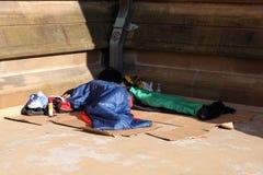 Os sem-abrigo Imagens de Stock