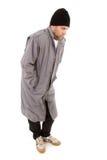 Os sem abrigo masculinos vagam Imagem de Stock