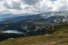 Os sete lagos Rila, Bulgária Fotos de Stock Royalty Free