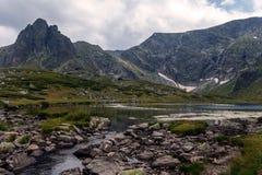 Os sete lagos Rila, Bulgária Fotos de Stock