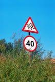 Os sinais Foto de Stock