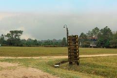 Os sinais estão em Phu Kradueng fotos de stock royalty free