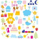 Os símbolos. Imagem de Stock