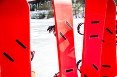 Os snowboarders Imagem de Stock