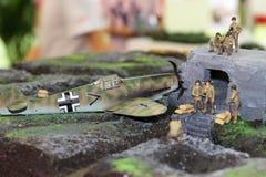 Os soldados modelo fotos de stock