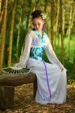 Os sonhos do japonês Imagens de Stock Royalty Free
