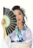 Os sonhos do japonês Fotografia de Stock Royalty Free